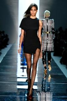 Cindy Bruna on the catwalk