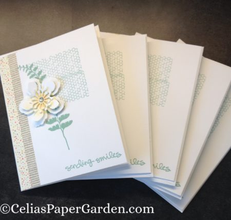 butterfly basics, greatest greetings, card idea, celia's paper garden, card corsage, corsage, corsages, card