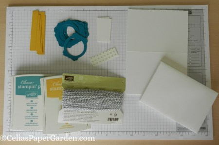 note card, card corsage, step by step, how to, layers, card idea, celiaspapergarden 1