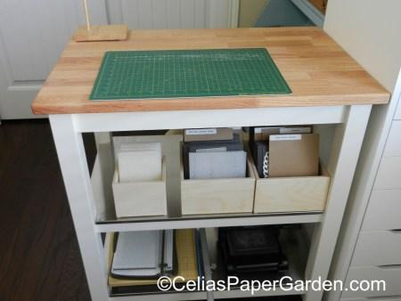 organize, stamps, craft, celiaspapergarden, stamp n storage, stuio 8
