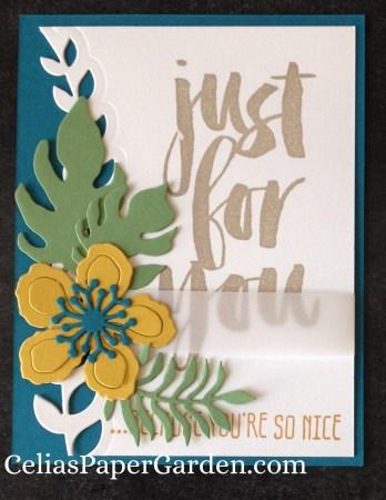 Botanical Builder card idea celiaspapergarden.com