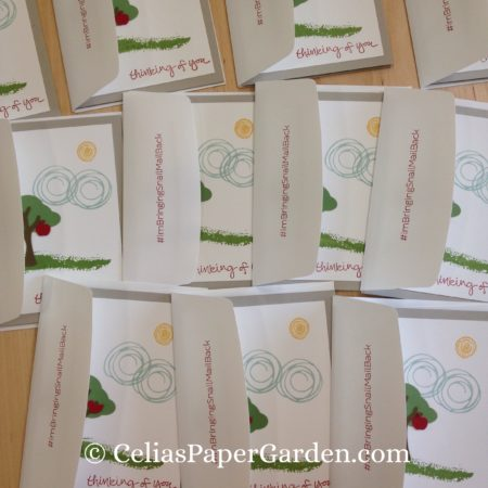 Celia's Paper Garden builder punch swirly bird friend card 2