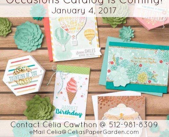 Occasions Catalog Is Coming Soon!
