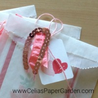 Card Corsage Easy Steps