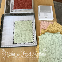 Background Stamping Using a Stamp Positioning Tool