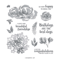 Beautiful Friendship – stamps, ink, paper