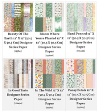 Designer Series Paper 15% Off All Month