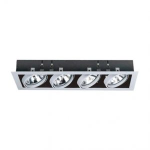 Linear Quad LED AR111 recessed downlighter - CE Ligthing Limited
