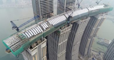 Yatay Gökdelen, Raffles City Chongqing