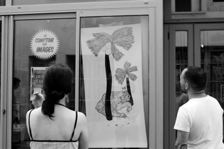 """Expo """"Les Bêtes"""" Céline Guichard Comptoir des images, Angoulême."""