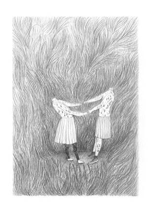 Dans les hautes herbes / petits formats/ Céline Guichard