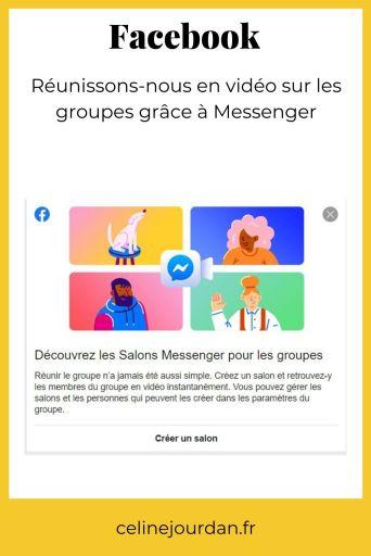 Salon Messenger pour groupes