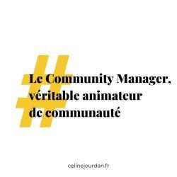animateur de communauté