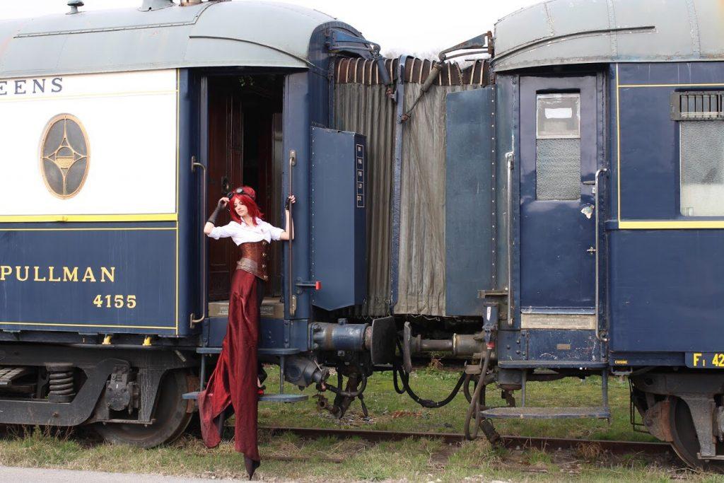 Cyrielle Ettihal Steampunk urbex