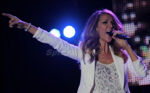 Celine Dion performs for the first time ever in the Caribbean at the 2012 Jamaica Jazz and Blues festival, Jamaica