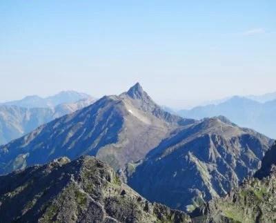槍ヶ岳に登山に行きました