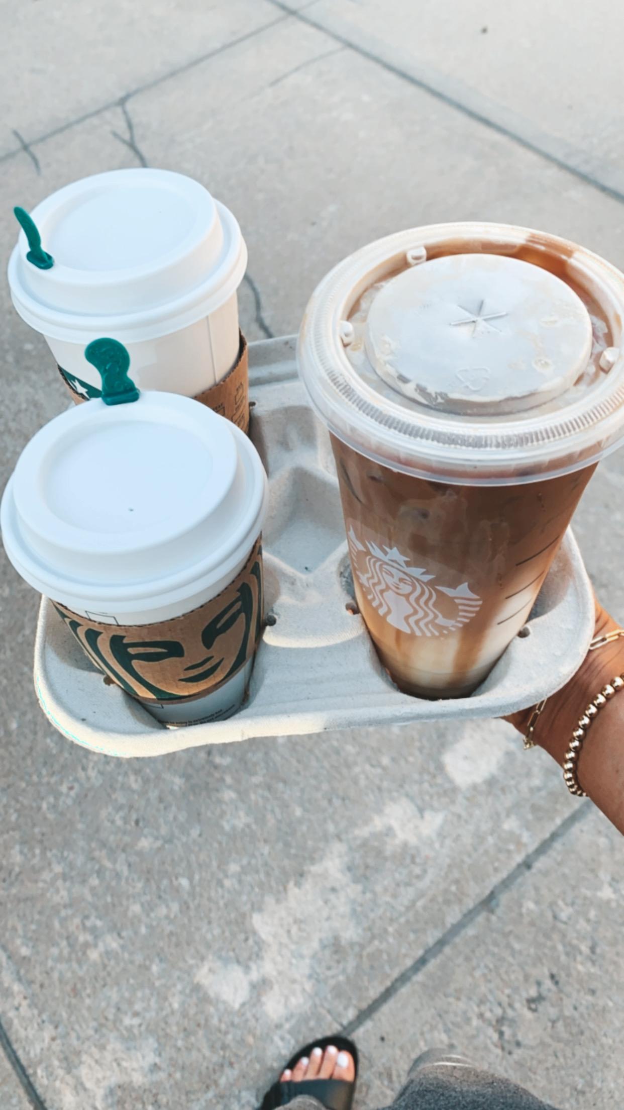 Photo of Healthier Summer Starbucks Drinks | Cella Jane