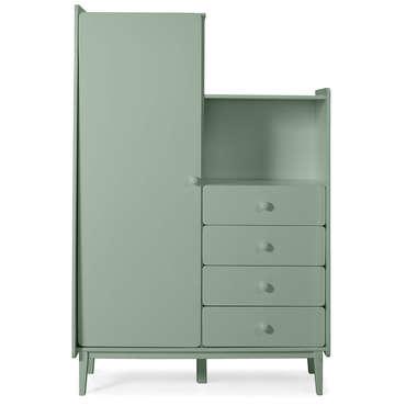 armoire enfant 1 porte 4 tiroirs