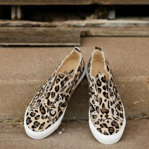 Babalu Leopard Print Shoe