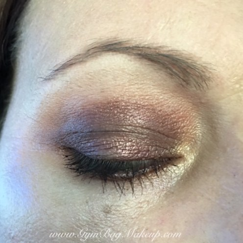 Brow bone: Extra Creamy, transition and blending - Peanut Butter, outer corner, crease and blending the lower lash line - Nuts About U, lid and lower lash line - Jammin, inner corner - Bananas. waterline and tightline - UD Rockstar, mascara - Too Faced Better Than Sex Mascara, brows - Nuance brow powder