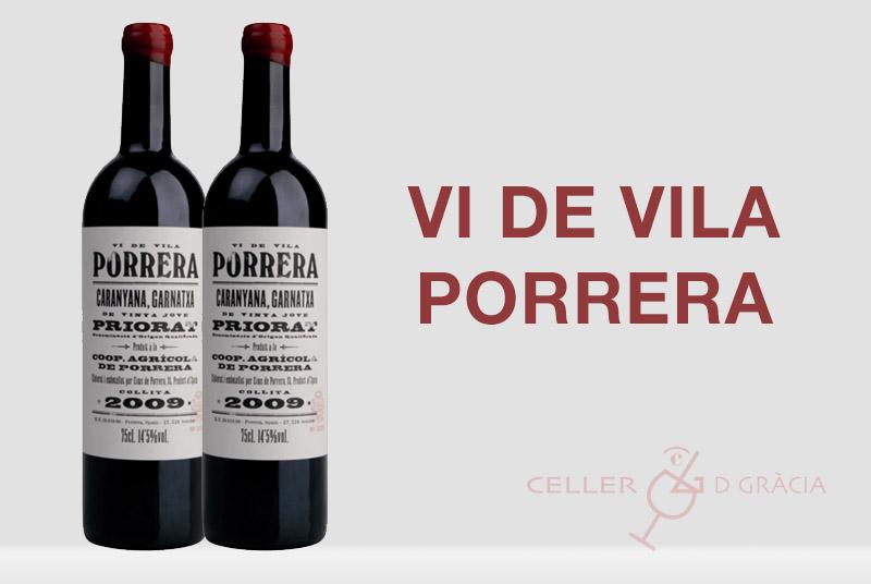 Novetat: Vi de Vila Porrera