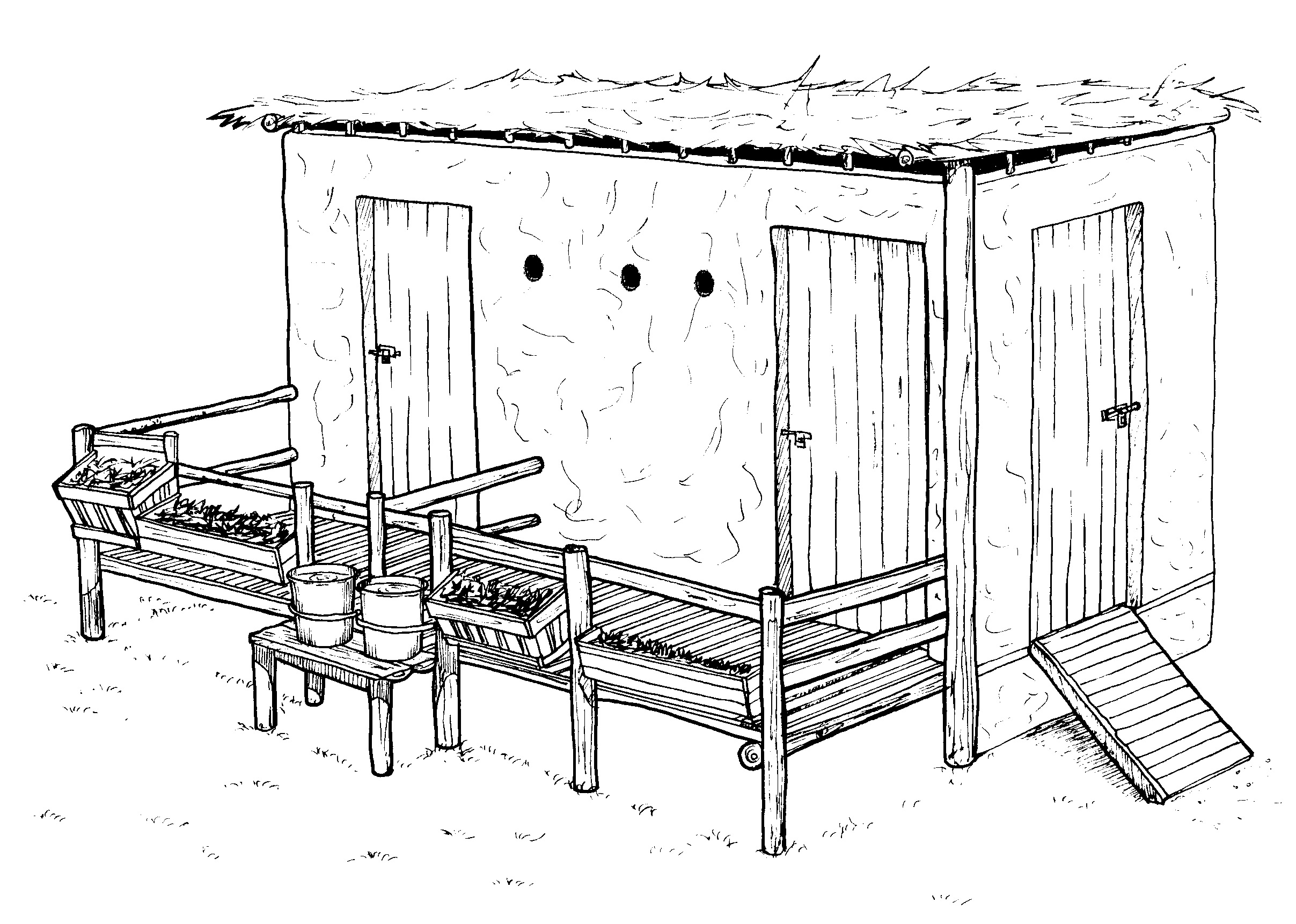 Design Of A Goat House