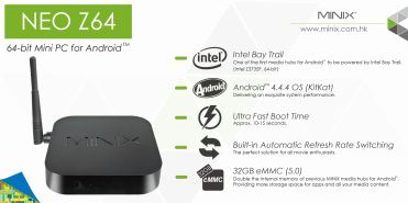 NEO Z64 Android - Features Banner
