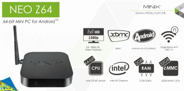 NEO Z64 Android - Specs Banner