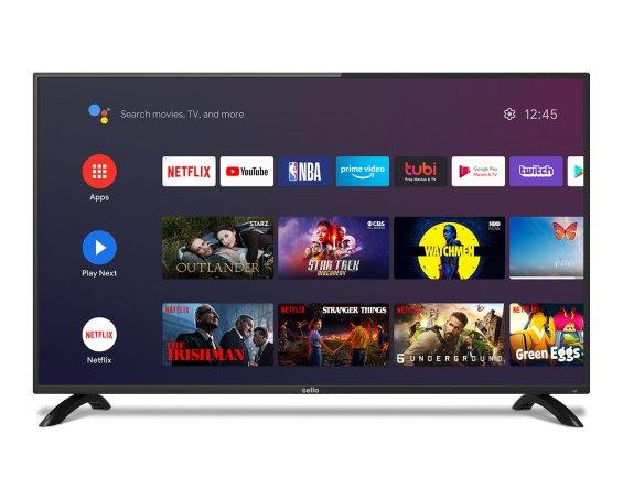 """40"""" Smart Android TV with Google Assistant and Freeview Play - Cello  Electronics (UK) Ltd"""