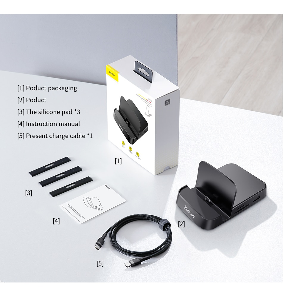 Station For Samsung Huawei Type C