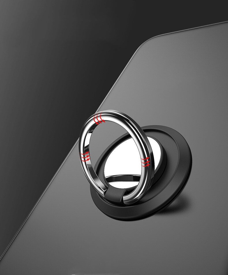Mini Dashboard Car Holder Magnetic Ring Phone Mobile Holder Universal for IPhone for Samsung Car Bracket Stand Support