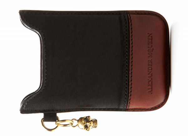ALEXANDER MCQUEEN Leather Blackberry Case