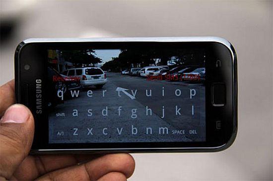 samsung app road sms