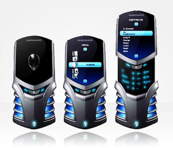 Alienware Android Phone Concept