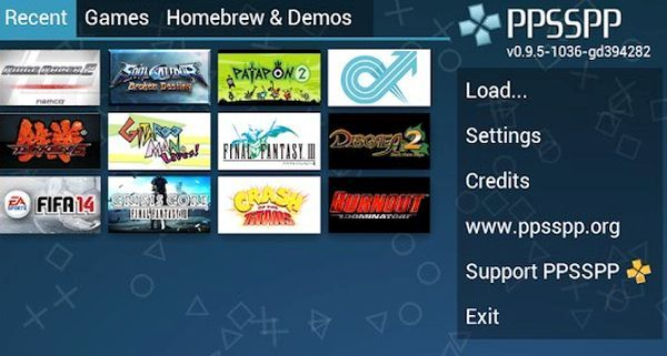 play PSP games on Android 4