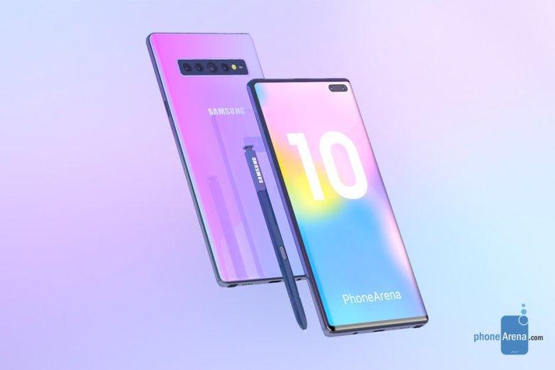 Sforum - Trang thông tin công nghệ mới nhất galaxy-note-10 Galaxy Note 10 sẽ không có jack cắm 3.5mm và phím cứng vật lý