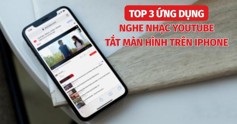 Sforum - Trang thông tin công nghệ mới nhất 1.91 Chia sẻ 3 ứng dụng tốt nhất để nghe nhạc YouTube tắt màn hình trên iPhone