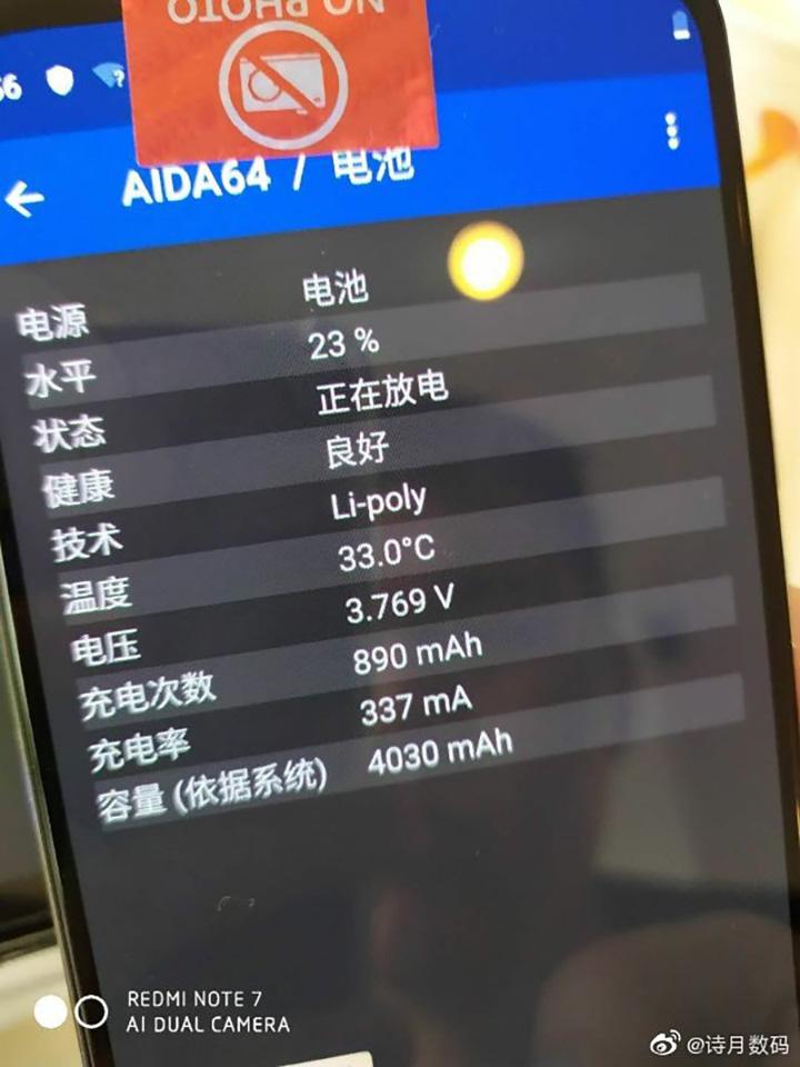 Sforum - Trang thông tin công nghệ mới nhất AIDA-64-CC9e-c AIDA64 xác nhận Xiaomi Mi CC9e sử dụng chipset Snapdragon 665 mới, chạy Android One
