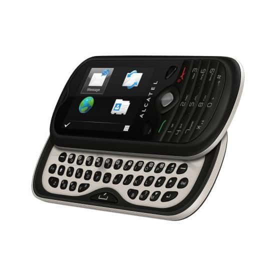 Alcatel One Touch Chat Slider Phone
