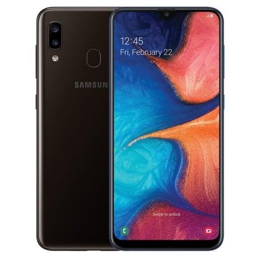 Samsung Galaxy A20 32GB Black Dual Sim