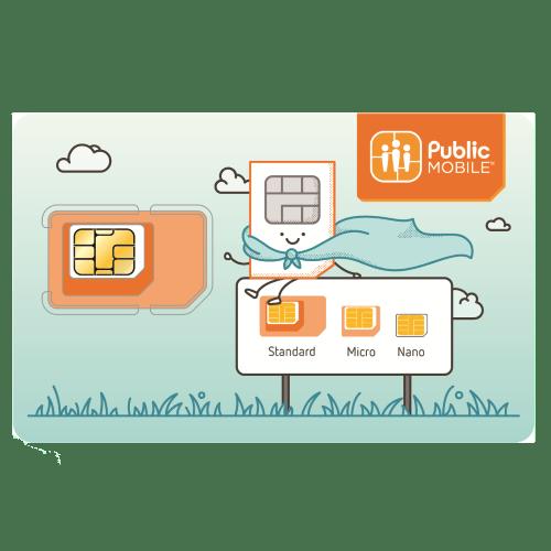 Public Mobile SIM Card