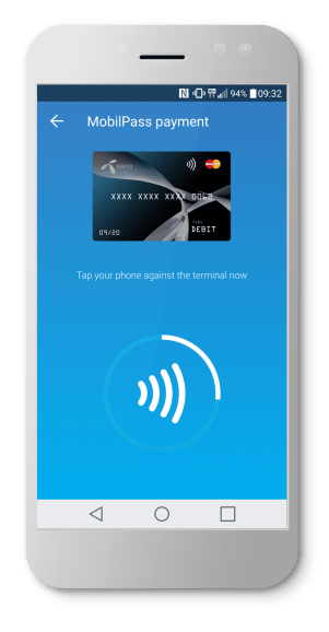 Telenor Wallet with NFC - tap to pay