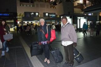 di depan Kyoto station (kopernya banyak tapi gak da isinya :D )