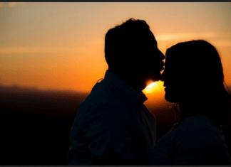 man kiss forehead