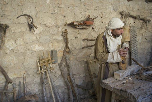 Es un carpintero de Jerusalen