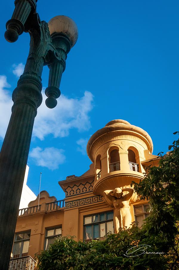 History is still present at Rua da Praia (Shoreline Street), Porto Alegre, Brazil