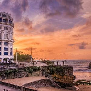 Biarritz, France.