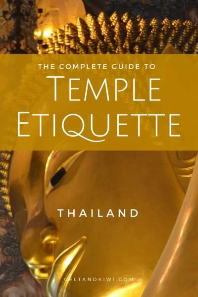 pinterest temple etiquette thai