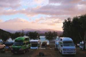 lake tekapo campsite