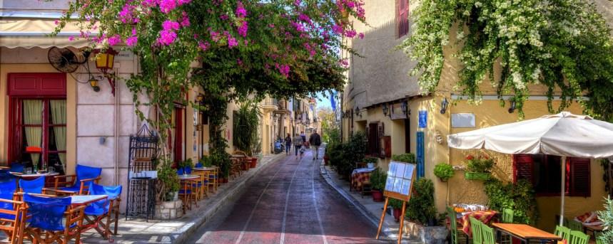 Plaka, the old city quarter